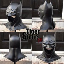 "Thomas Wayne Flashpoint Rebirth Batman cowl (Fabok ""The Button"" inspired)"
