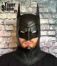 Batman Animated / Comic inspired cowl with chin strap