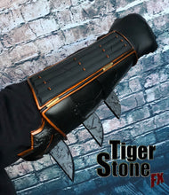 Armored, battle damaged super hero gauntlets - Great for Batman, Nightwing, Deathstroke, Robin, Red Hood etc cosplays