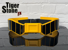 Batman Rebirth inspired utility belt - Black/gold or black/yellow (can be made in lots of other colors too)