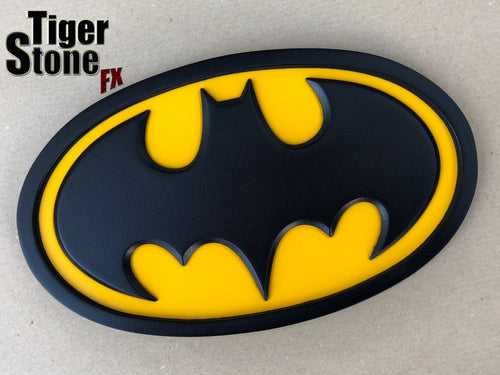 Batman classic oval / Batman the animated series inspired chest emblem