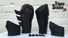 Batman v Superman Dawn Of Justice inspired Gauntlets with fins, hand wraps and knuckles