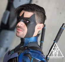 Arkham Knight inspired Nightwing face mask - Won't be available for a while as we have to make a new master & mold for it