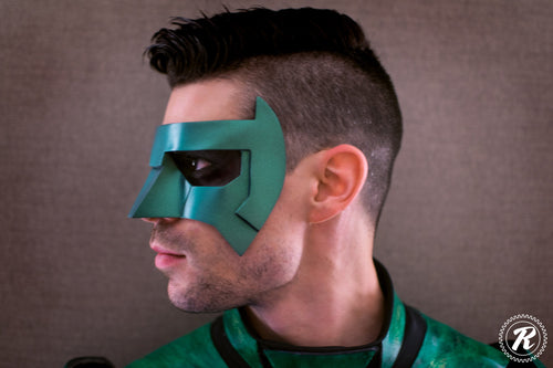 Kyle Rayner New 52 inspired Green Lantern mask (can be made in various colors)