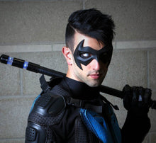 New 52 inspired Nightwing Sidekick Superhero Mask - (can be made in various colors)