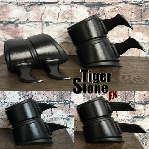Gauntlets / bracers for your cosplay - choose from 3 styles of fins