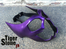 Huntress inspired mask in metallic purple, purple OR black (can also be made in other colors)