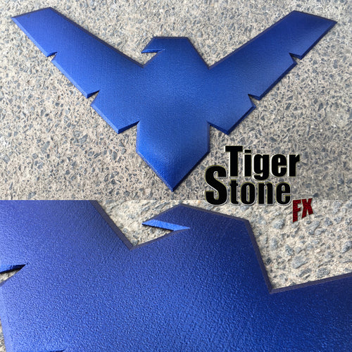 Nightwing inspired chest emblem / logo for your cosplay costume - Can be made in lots of colors