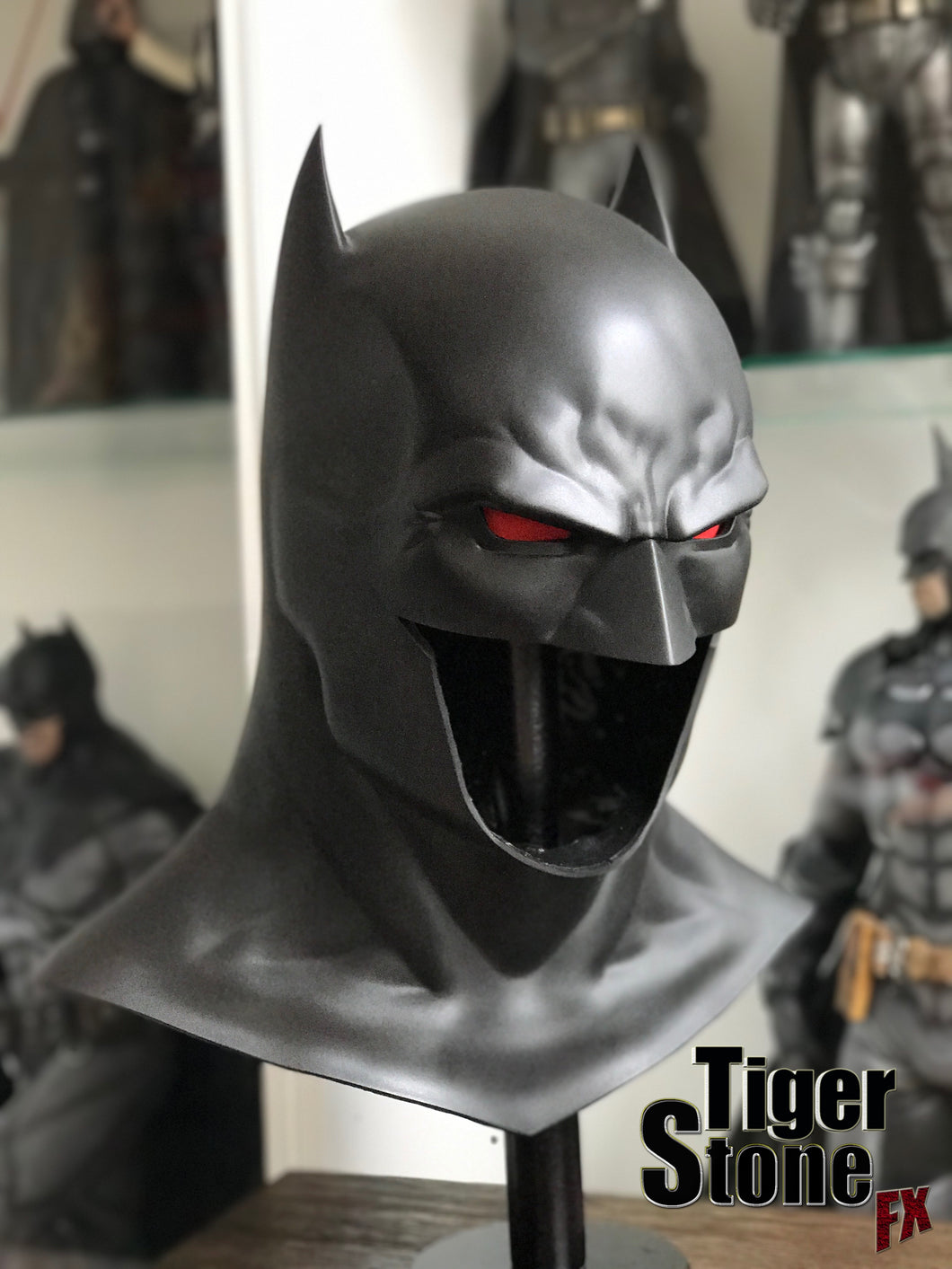 Thomas Wayne Flashpoint Rebirth Batman cowl (Fabok