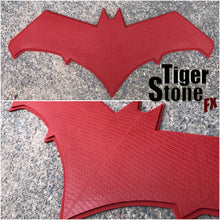 Red Hood chest emblem BvS inspired, also great for Batman cosplays - (can be made in various colors)