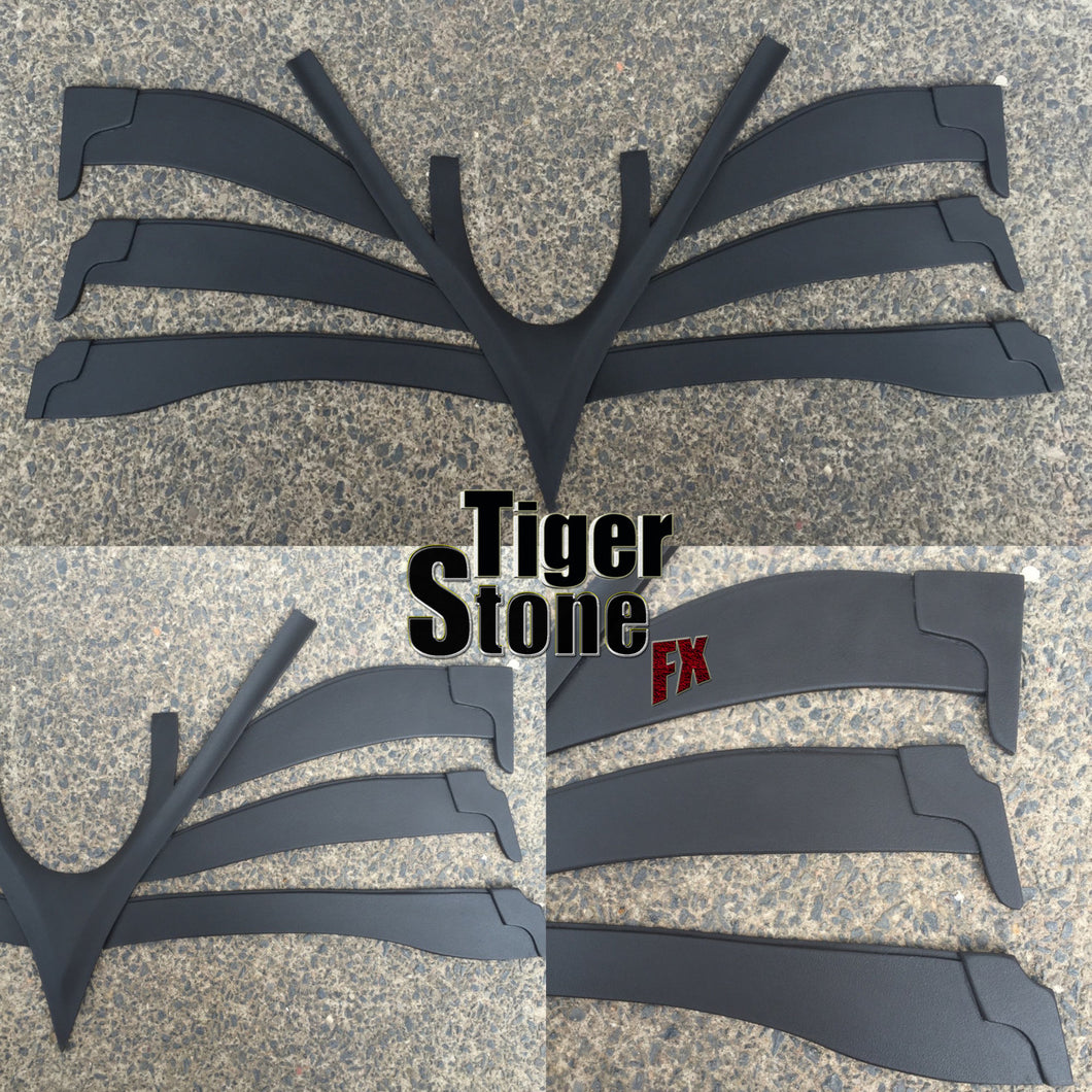 The Dark Knight / Rises TDK TDKR Neck Armor for your Batman mask / cowl