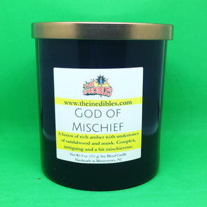 God of Mischeif 9 oz Candle
