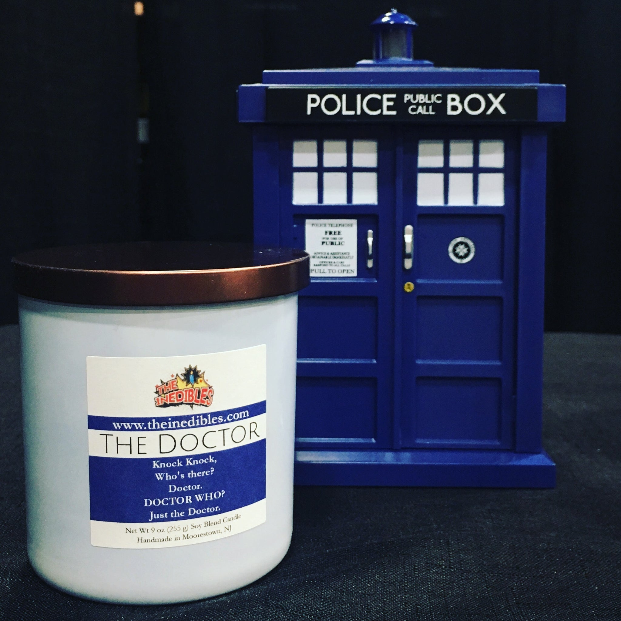 Dr Who Candle