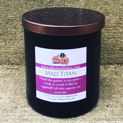Mad Titan 9 oz Candle