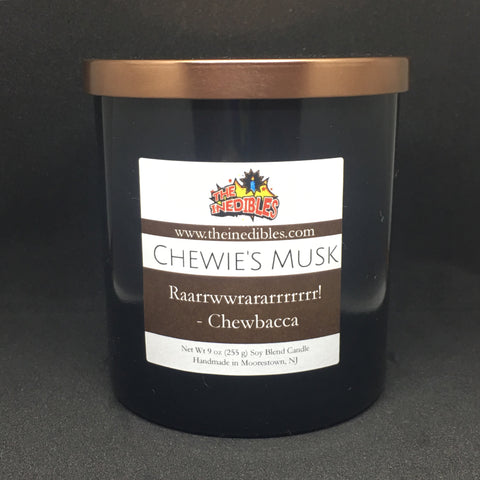 Chewie's Musk 9 oz Candle