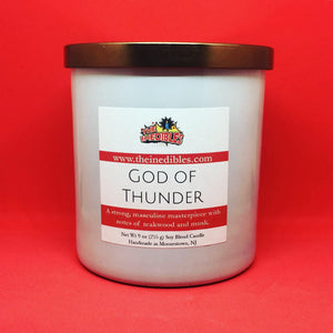 God of Thunder 9 oz Candle