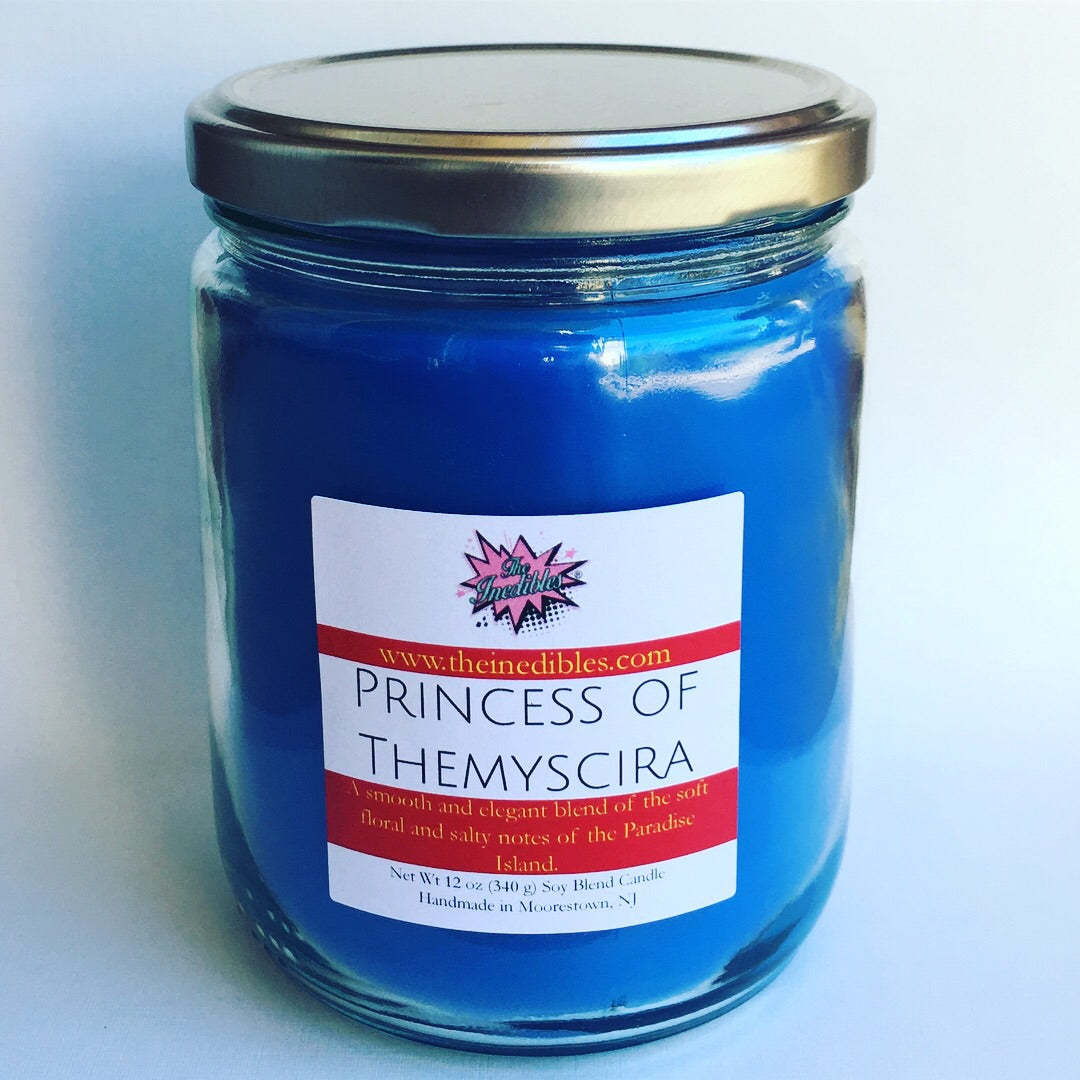 Princess of Themyscria 12 oz Candle