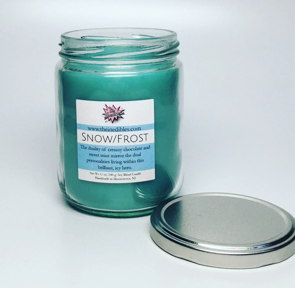 Frost/Snow 12 oz soy blend candle