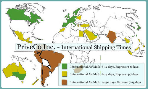 International Shipping Times