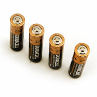 Four AA Duracell Batteries