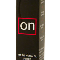 On Arousal Gel for Her Box Front