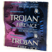 Unleash Elemental Sensations With Trojan Fire and Ice Condoms