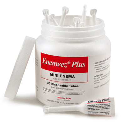 Enemeez Plus - A Mini Enema with Anesthetic - 30 ct.