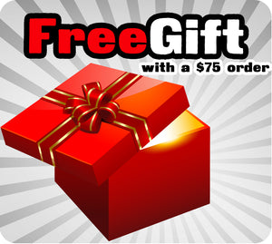 Free Gift With A $75 Order