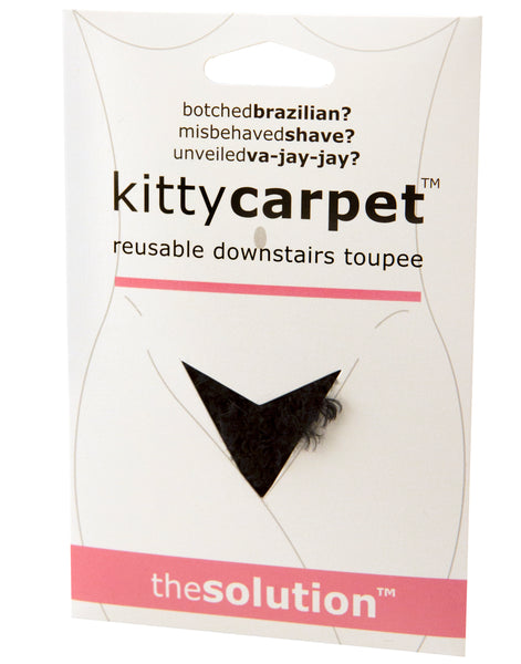 Kitty Carpet - It's A Pubic Wig! - Available in Black, Blonde and Pink