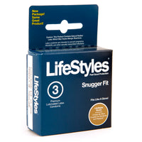 Lifestyles Snug Condoms Box Front