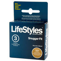 Lifestyles Snugger Fit Condoms - 3