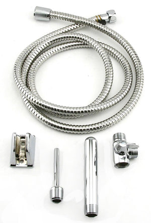 A Very High Quality Stainless Steel Shower Bidet/Enema System