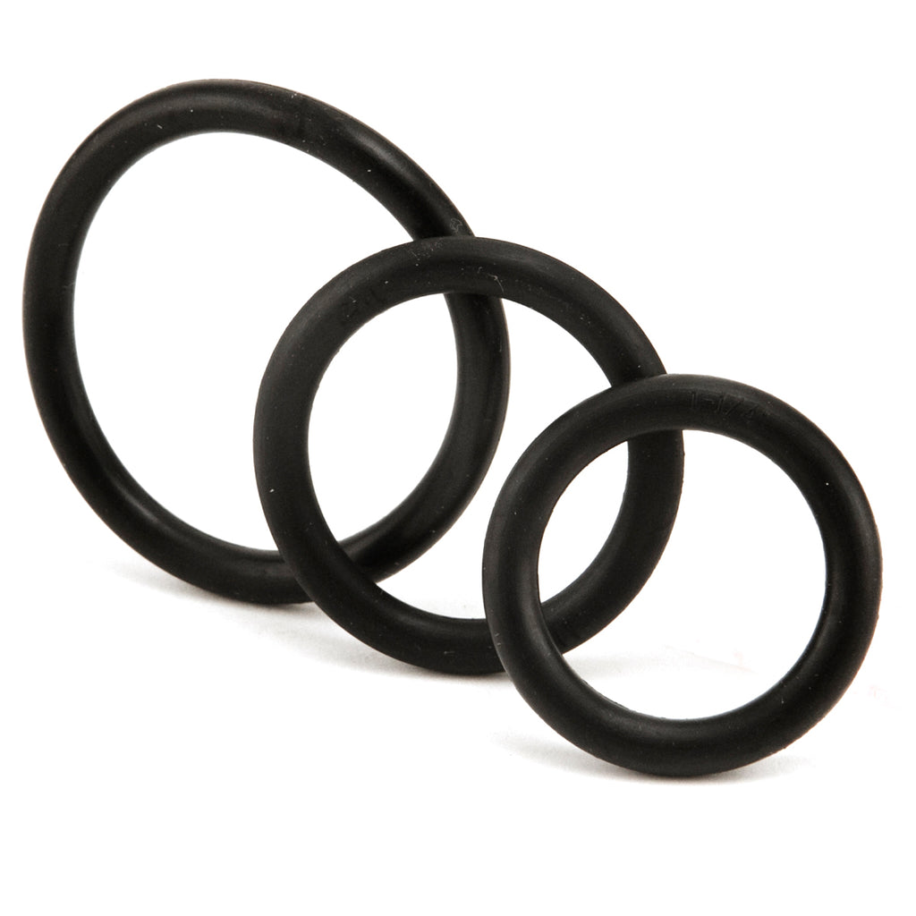 Find the Perfect Fit With 3 Stretchy Cock Rings
