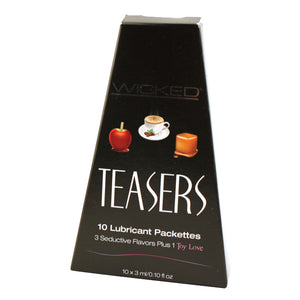 Teasers Flavored Lube Sampler - Really Tasty!