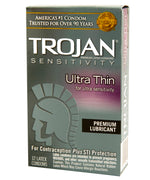 Trojan Ultra Thin Condoms - You Won't Believe You're Even Wearing One