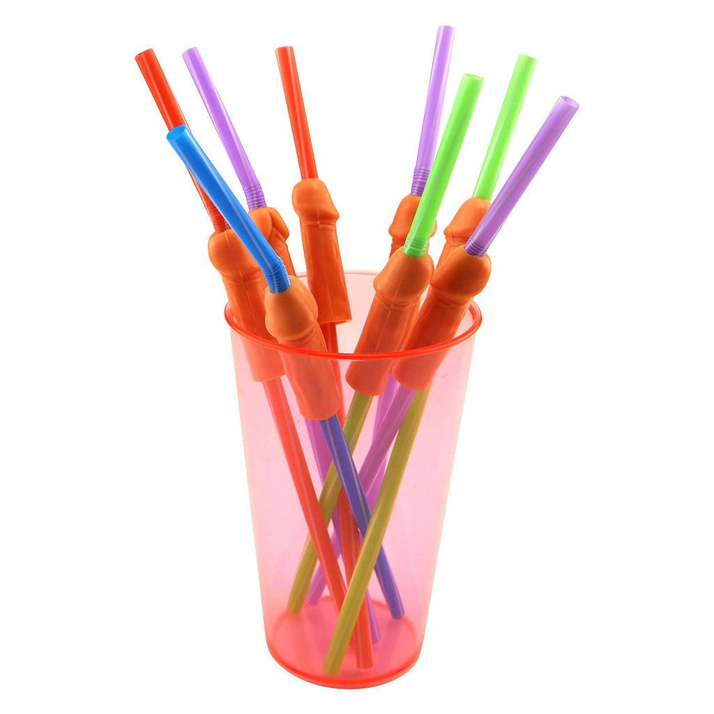 Product of the Week: Multicolored Bendy Penis Straws