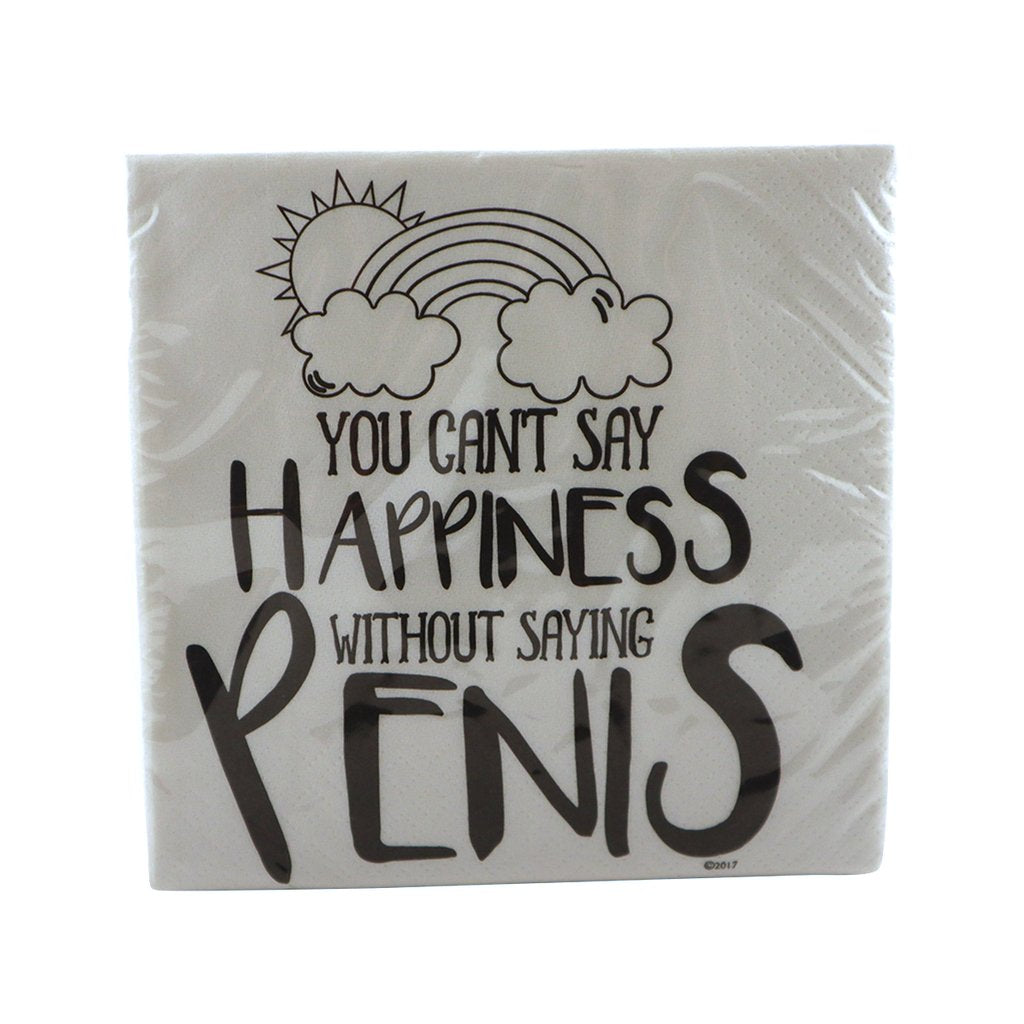 Product of the Week: You Can't Say Happiness Napkins