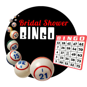Free Bridal Shower Bingo Game - Free Download!