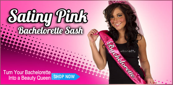 Pink Bachelorette Party Sash