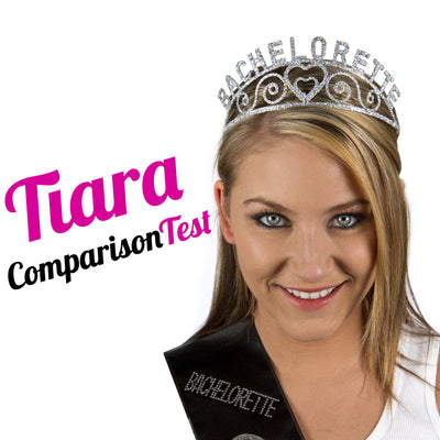 Bachelorette Party Tiara Comparison Test