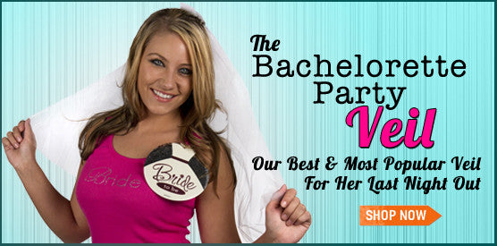 The Bachelorette Party Veil - Great Bachelorette Party Supplies