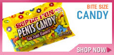 Super Fun Bite Size Penis Candy