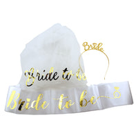 Golden Bride Dress-Up Set