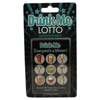 Drink Me Lotto Cards