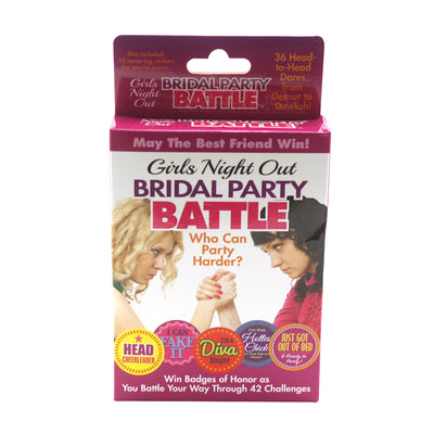 Bridal Party Battle Game