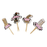 Naughty Cake Toppers 24 Pack