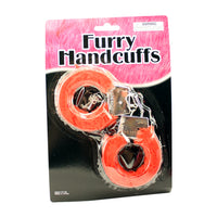 Furry Handcuffs - Hand Cuffs With A Little Fur - Bachelorette.com Bachelorette Party Supplies