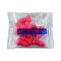 10 Piece Superfun Penis Candy - Pink - Bachelorette.com Bachelorette Party Supplies