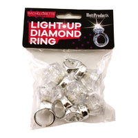 Light Up Diamond Rings - Bachelorette.com Bachelorette Party Supplies