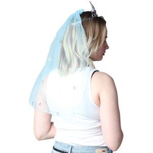 Blue Diamond Veil